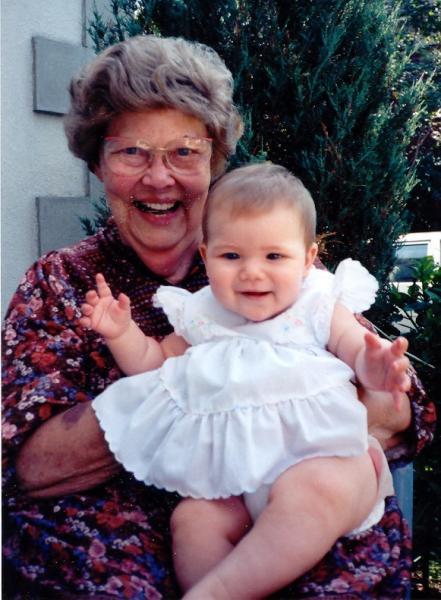 Photo of Grandmother & Child